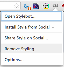 Remove Styling