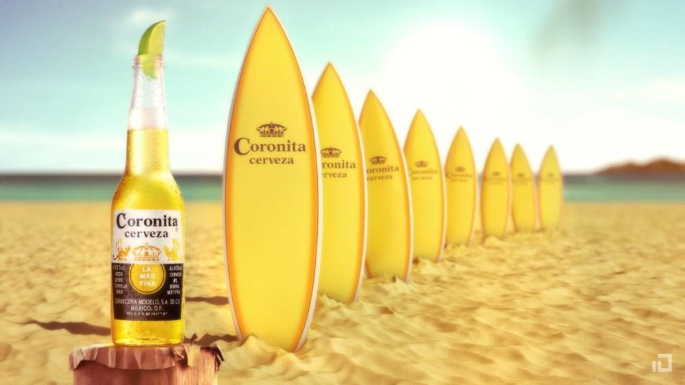 Surf corona