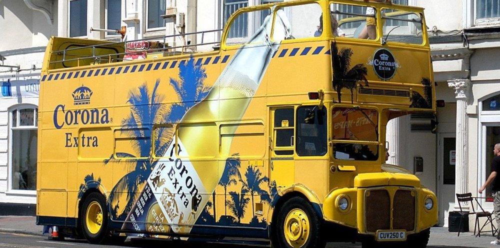 Corona bus