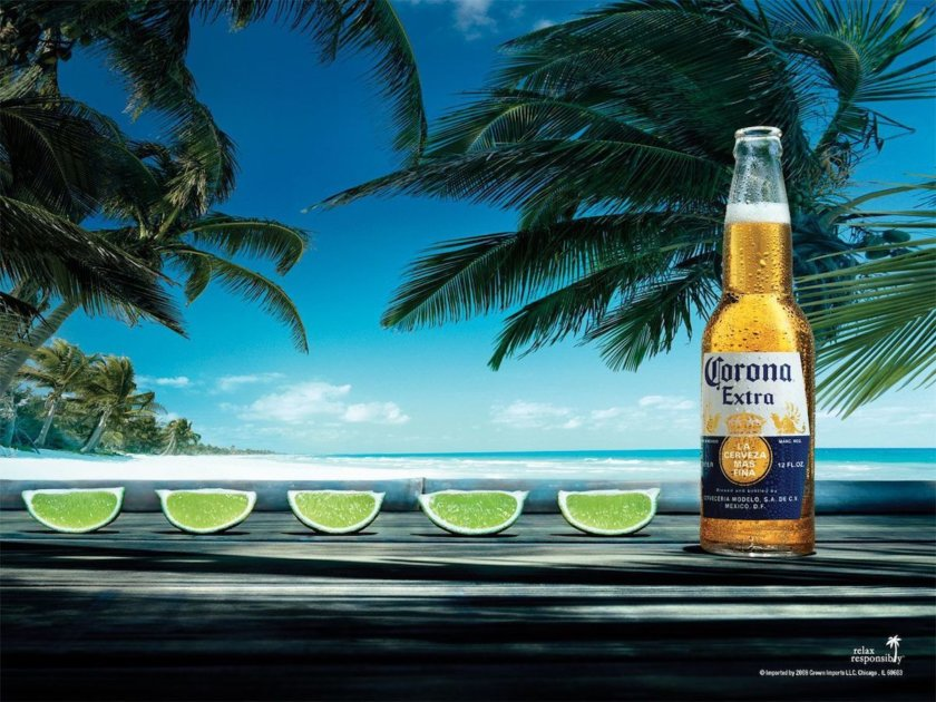 Corona lime line